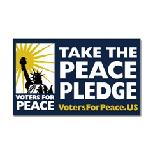 Peace Pledge signed by Deborah Dupre' Voters for Peace supporter