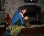 The Fuel Film Deborah Dupre' and son, Jeremiah Dupre' 2-Stepping Photo Louisiana Cajun Country EcoPeace Donations